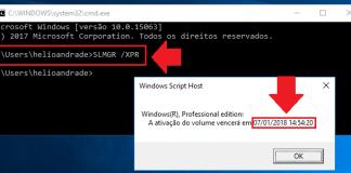 Ativação - Windows 10